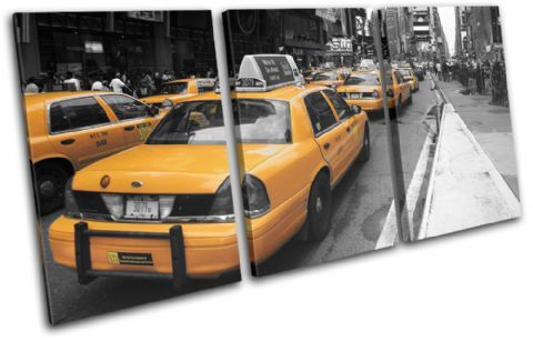 New York NYC Taxi Cab City - 13-1702(00B)-TR21-LO